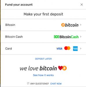 bovada deposit options